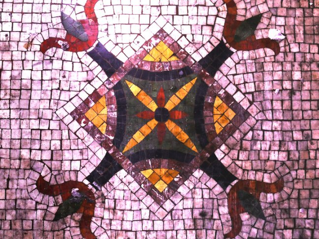 mosaic detail, alt space detroit house (altspacedetroit.org)