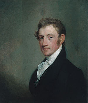 portrait of David Sears, by Gilbert Stuart
