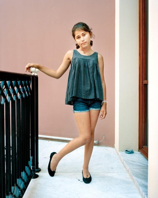 L'Enfant Femme: Sarah, 10, Beirut, Lebanon 2011