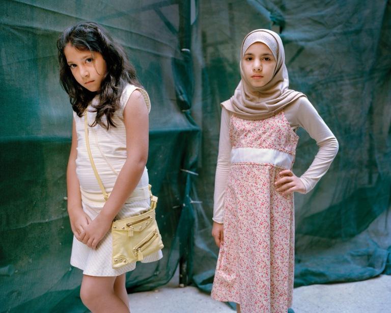 Yasmine 10 and Maryam 10 #1 Beirut Lebanon 2012