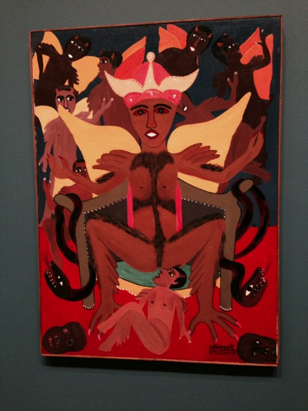Waldemiro de Deus' Boizebú (Devil, 1981). Museum of Fine Arts, Boston.