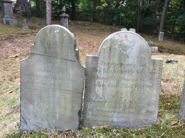 tombstones, Brookline